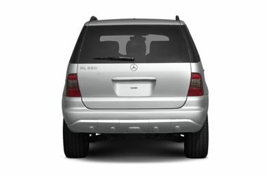 Rear Profile  2005 Mercedes-Benz ML350