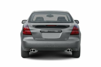 Rear Profile  2005 Pontiac Grand Prix