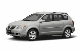 3/4 Front Glamour 2005 Pontiac Vibe