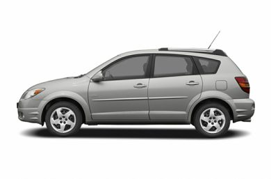 90 Degree Profile 2005 Pontiac Vibe