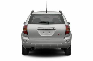 Rear Profile  2005 Pontiac Vibe