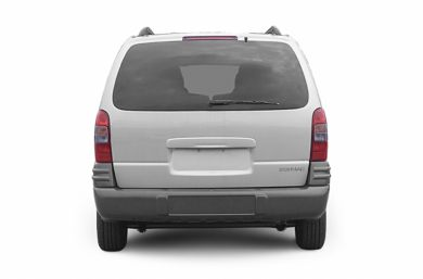 Rear Profile  2005 Pontiac Montana