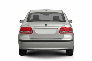 Rear Profile  2005 Saab 9-3