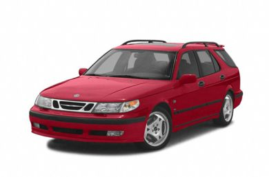 3/4 Front Glamour 2005 Saab 9-5