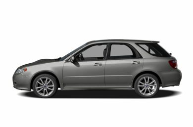 90 Degree Profile 2005 Saab 9-2X