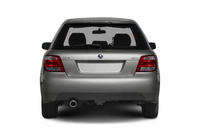 Rear Profile  2005 Saab 9-2X