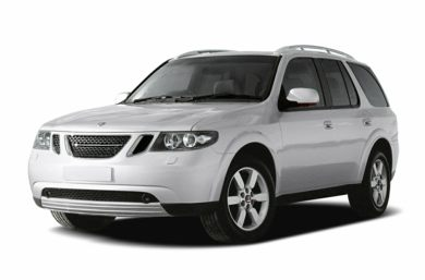 3/4 Front Glamour 2005 Saab 9-7X