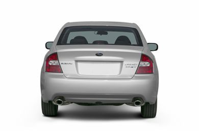 Rear Profile  2005 Subaru Legacy