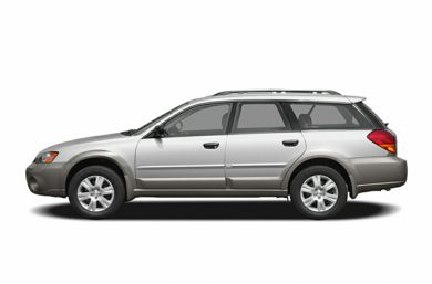 90 Degree Profile 2005 Subaru Outback