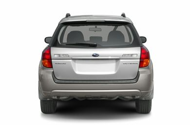 Rear Profile  2005 Subaru Outback