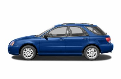 90 Degree Profile 2005 Subaru Impreza WRX