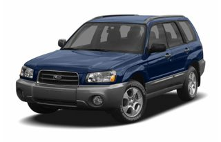 3/4 Front Glamour 2005 Subaru Forester