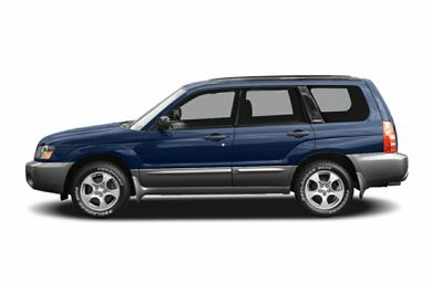 90 Degree Profile 2005 Subaru Forester