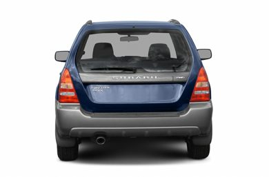 Rear Profile  2005 Subaru Forester