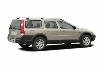 3/4 Rear Glamour  2005 Volvo XC70
