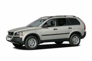 3/4 Front Glamour 2005 Volvo XC90