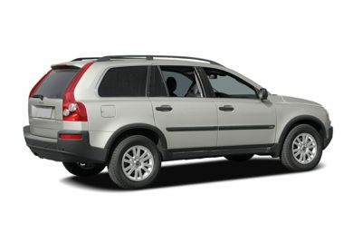 3/4 Rear Glamour  2005 Volvo XC90