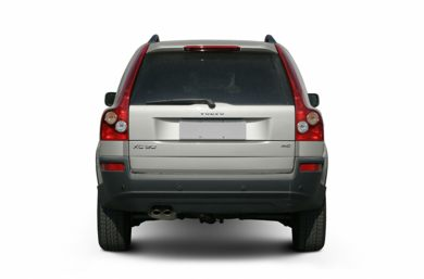 Rear Profile  2005 Volvo XC90