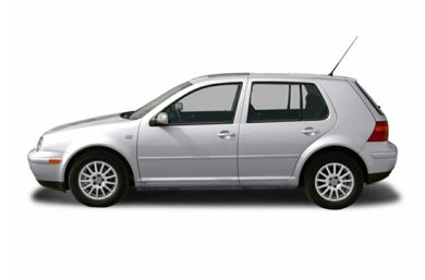 90 Degree Profile 2005 Volkswagen Golf