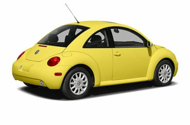 3/4 Rear Glamour  2005 Volkswagen New Beetle