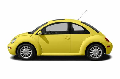90 Degree Profile 2005 Volkswagen New Beetle