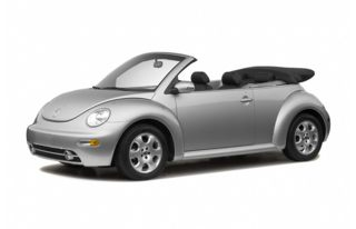 3/4 Front Glamour 2005 Volkswagen New Beetle