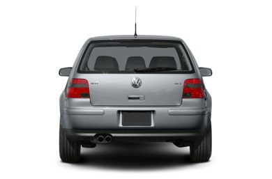 Rear Profile  2005 Volkswagen GTI