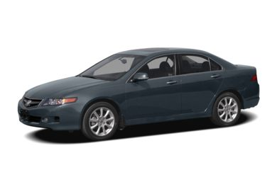 3/4 Front Glamour 2006 Acura TSX
