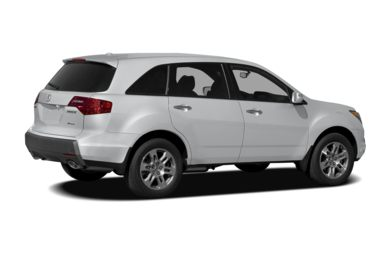 3/4 Rear Glamour  2006 Acura MDX
