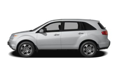 90 Degree Profile 2006 Acura MDX