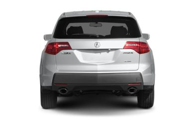 Rear Profile  2006 Acura MDX