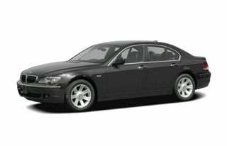 3/4 Front Glamour 2006 BMW 750