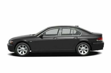 90 Degree Profile 2006 BMW 760