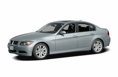 3/4 Front Glamour 2006 BMW 325
