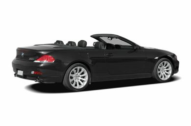 3/4 Rear Glamour  2006 BMW 650