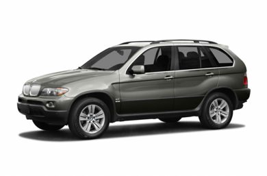 3/4 Front Glamour 2006 BMW X5