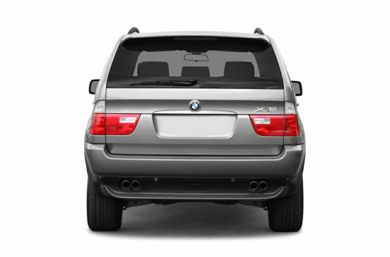 Rear Profile  2006 BMW X5
