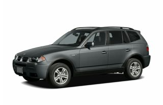 3/4 Front Glamour 2006 BMW X3