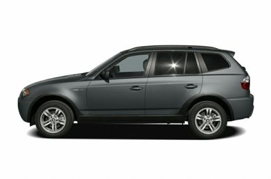90 Degree Profile 2006 BMW X3