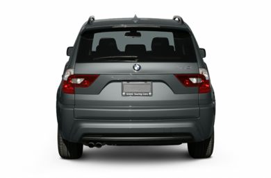 Rear Profile  2006 BMW X3