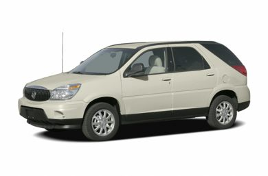 3/4 Front Glamour 2006 Buick Rendezvous
