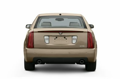 Rear Profile  2006 Cadillac STS