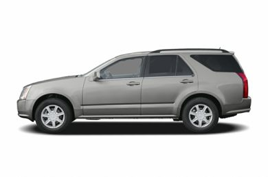 90 Degree Profile 2006 Cadillac SRX