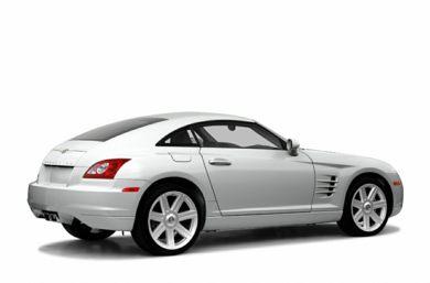 3/4 Rear Glamour  2006 Chrysler Crossfire