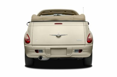 Rear Profile  2006 Chrysler PT Cruiser