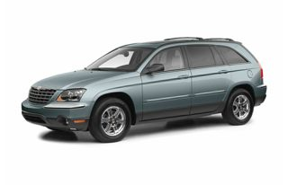 3/4 Front Glamour 2006 Chrysler Pacifica
