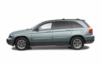 90 Degree Profile 2006 Chrysler Pacifica