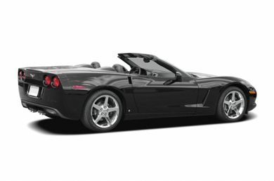 3/4 Rear Glamour  2006 Chevrolet Corvette