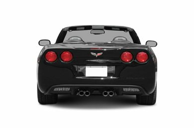 Rear Profile  2006 Chevrolet Corvette