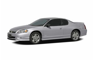 3/4 Front Glamour 2006 Chevrolet Monte Carlo